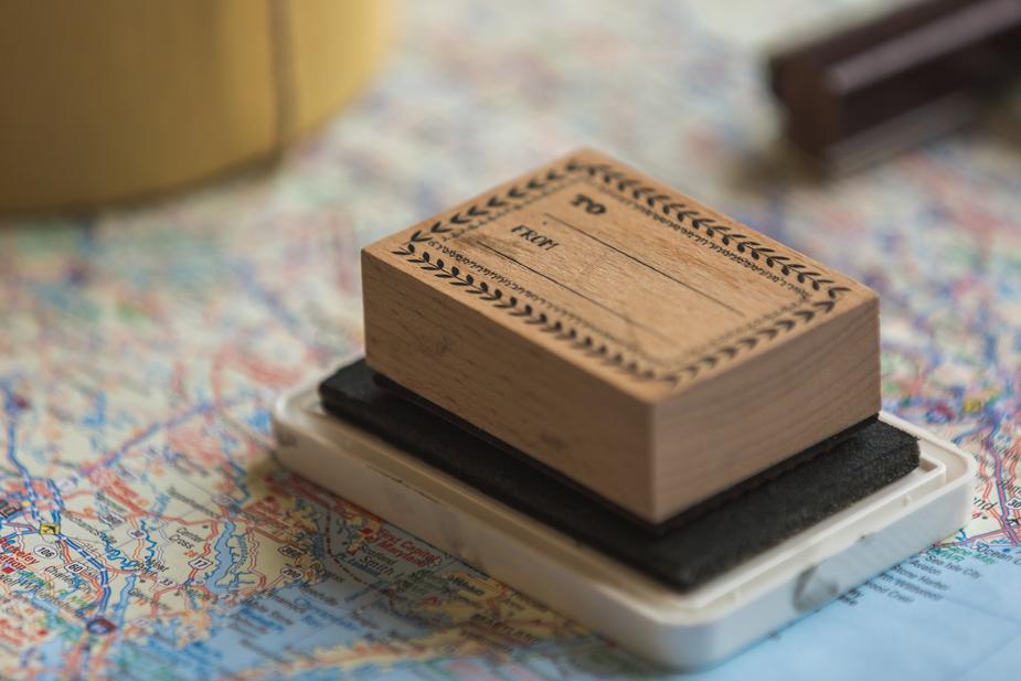 Weltkarte Briefmarken